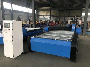 China 1325 1530 cheap torch height controller plasma huayuan metal steel cutting cnc plasma cutting machine