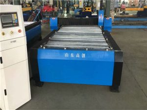 China Huayuan 100A Plasma Cutting CNC Machine 10mm Plate Metal