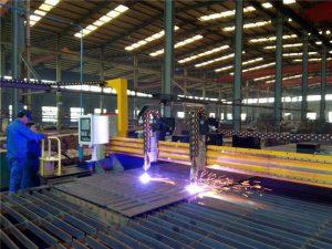 પીપડાં રાખવાની ઘોડી સીએનસી પ્લાઝ્મા કટીંગ મશીન અને સ્ટીલ પ્લેટ માટે જ્યોત કાપવાની મશીન
