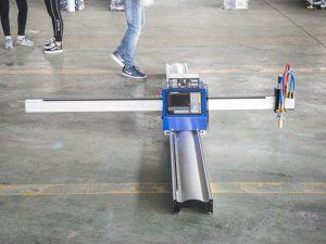 નવી તકનીક પોર્ટેબલ પ્રકાર સી.એન.સી. પ્લાઝ્મા કટીંગ મશીન કિંમત નાના વ્યવસાયિક ઉત્પાદન મશીનો