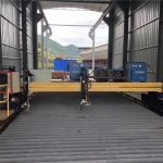 ચોકસાઇ સી.એન.સી. પ્લાઝ્મા કટીંગ મશીન સચોટ 13000 મીમી સર્વો મોટર