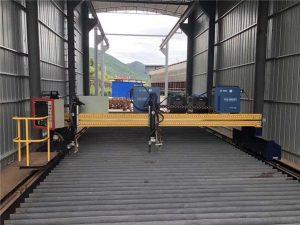 સર્વો મોટર સાથે ચોકસાઇ સીએનસી પ્લાઝ્મા કટીંગ મશીન ચોક્કસ 13000 મીમી
