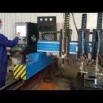 હેવી ડ્યુટી પીપડાં રાખવાની ઘોડી સીએનસી પ્લાઝ્મા કટીંગ મશીન મેટલ ફેબ્રિકેશન સ્વચાલિત