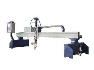 ઉચ્ચ કાર્યક્ષમતા પીપડાં રાખવાની ઘોડી સી.એન.સી. પ્લાઝ્મા કટીંગ મશીનિનસેન જ્યોત કટીંગ મશીન