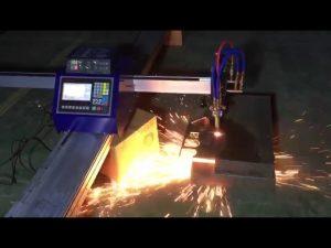 મેટલ સ્ટેઈનલેસ સ્ટીલ કાપવા માટે ઓછી કિંમતમાં મિનિ પોર્ટેબલ સી.એન.સી. પાઇપ ફ્લેમ પ્લાઝ્મા કટીંગ મશીન